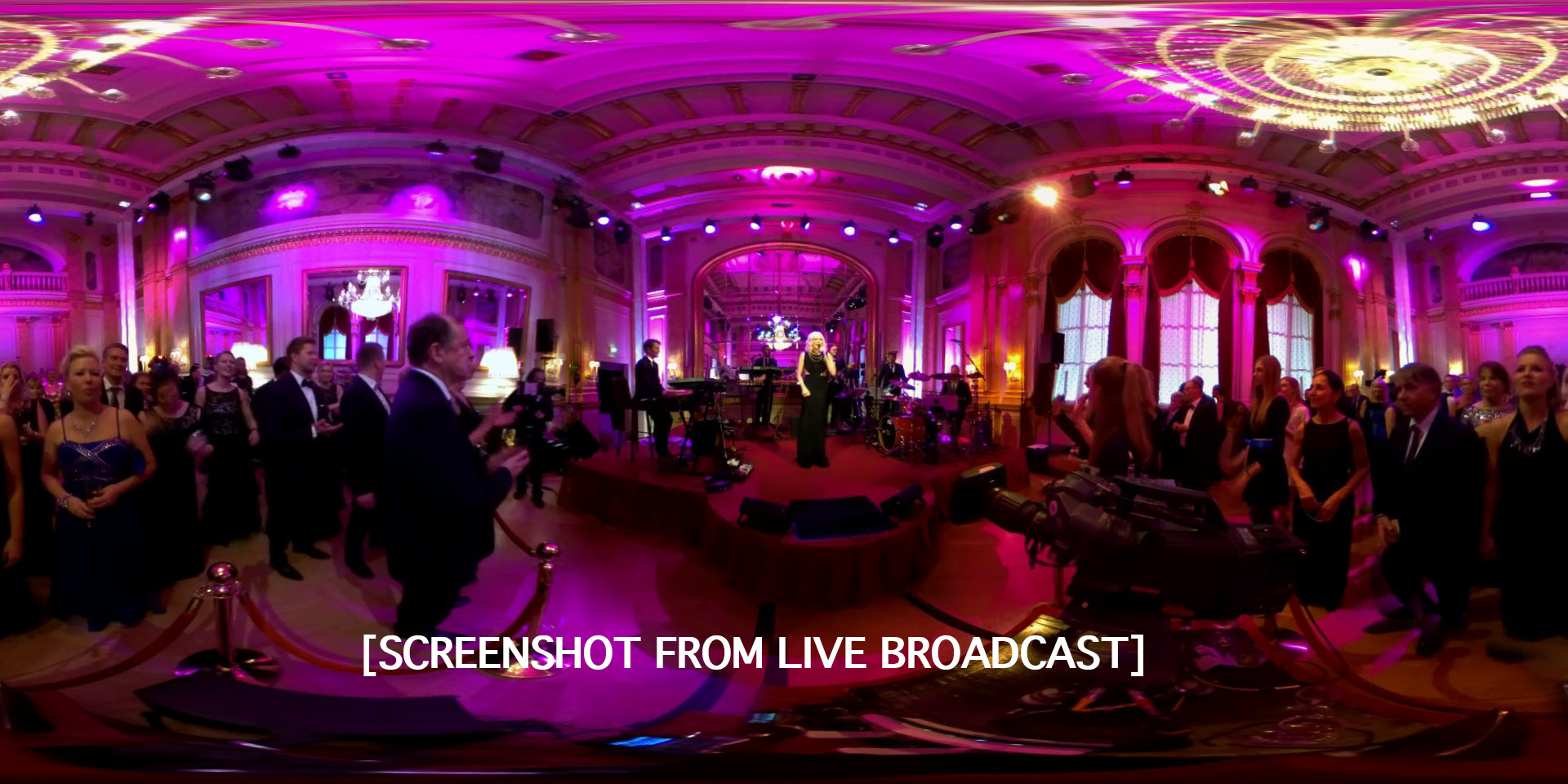 360 Live production FinCloud.tv Finwe Ltd